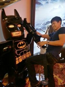 Taugrim versus Lego Batman