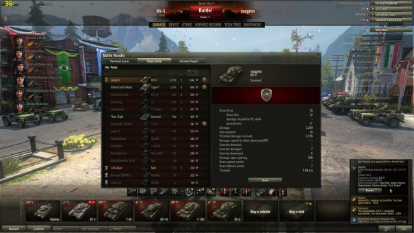 KV-3 Ace Tanker screenshot