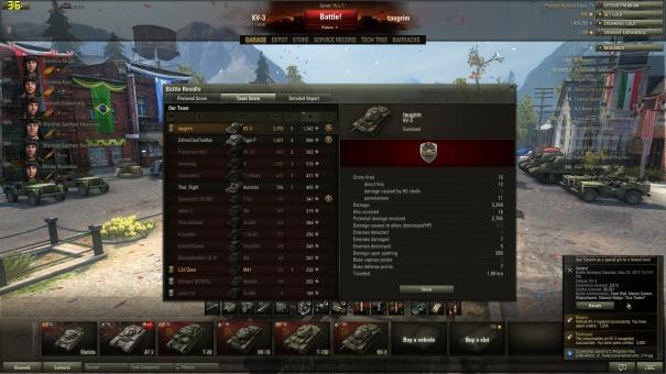 KV-3 Ace Tanker screenshot