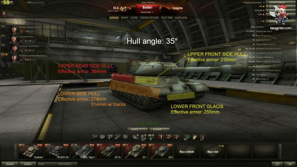 IS-4 Angled