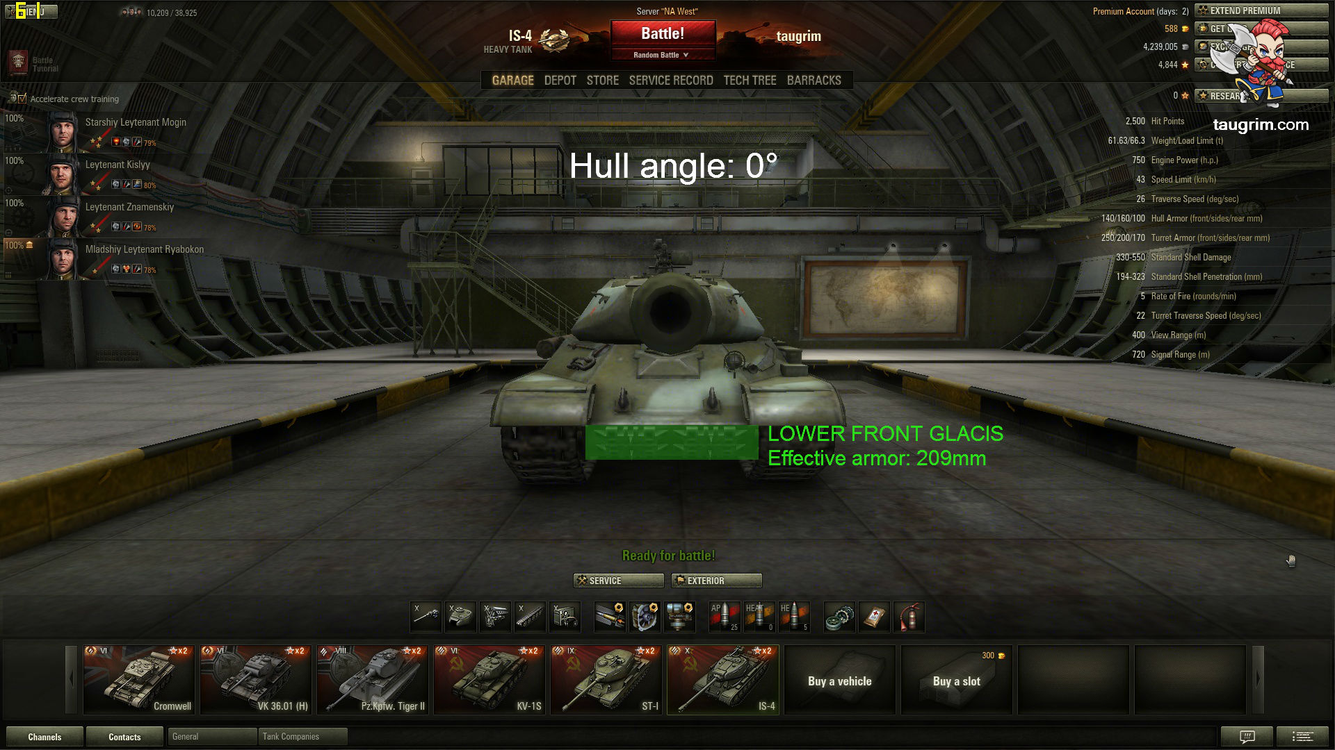 """World of Tanks Video: IS-4 """"Ace Tanker"""" Mastery 