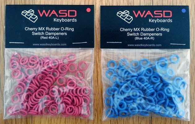 Cherry MX Red vs Brown Switches, Red vs Blue O-Rings Review